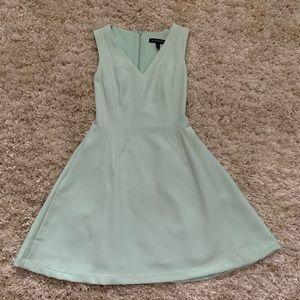 Banana republic mint green dress size 00 (petite)